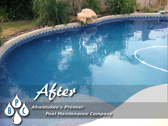 after green pool cleaning ahwatukee