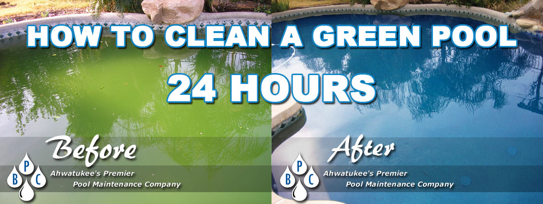 How To Clean A Green Pool In 24 Hours Bpc Pool Maintenance
