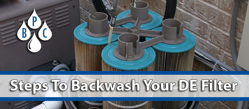 How To Backwash Your DE Filter