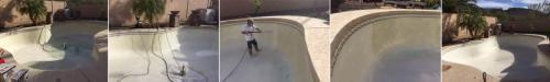 Pool Acid Washing Process